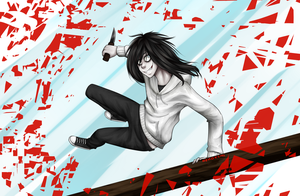 Jeff The Killer| RUN! by NekoXemi