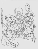 Steven Universe Poster by BaryMiner