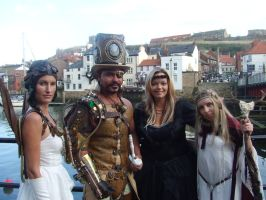 steampunk overlord group by overlord-costume-art