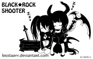 BRS and Death Master Chibi by kristaayy