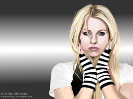 Avril Lavigne vector by Cid-Moreira12