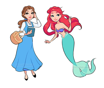 Little princesses by HollyBell
