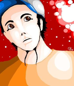 Daron with MSPaint by SystemOfADown