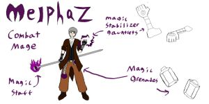 OCT Character Entry: Melphaz by Lunicarus