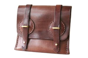 Steampunk Leather Wallet 5 by AmbassadorMann