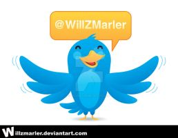 Twitter Bird by WillZMarler