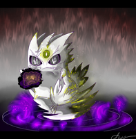 Shiny Mega Gengar by Shadow-Pikachu6