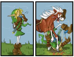 Epona's Song by nebulafire