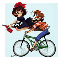Kiki And Tombo by cam070