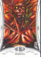 Marvel Prmiere 2014 Upperdeck sketchcards by warpath28