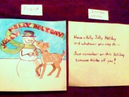 Holiday Card Project by ChristineManymoons