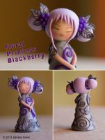 Floral Princess 'Blackberry' by ZanetaGc