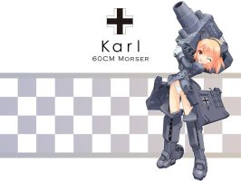 GirlArms Karl Morser Wallpaper by HaMsTeYr