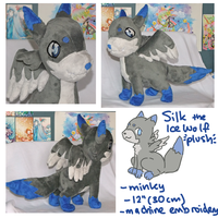Silk Wolf Plush by scilk