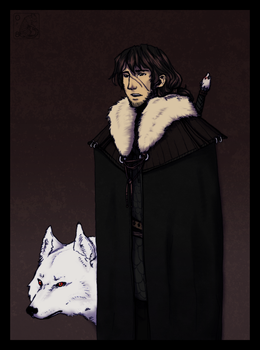 Jon Snow by Wind08