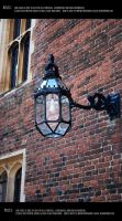English street lamp by Mithgariel-stock