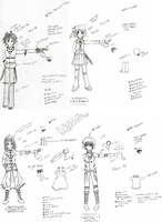 Characters designs lol? by Masume