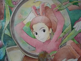 Karigurashi no Arrietty by giulystar-chan