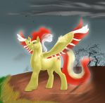 Moltres Pony by Just-Plain-Cat