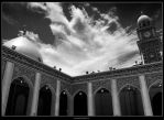 Black and White Shrine by almahdi