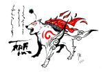 Amaterasu Okami by redfield37