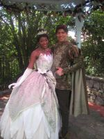 Tiana and Naveen by GarnetMelody