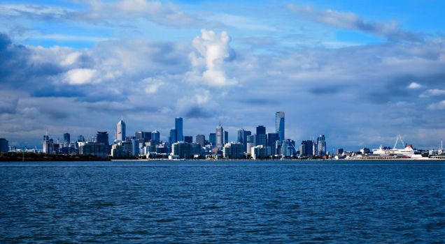 Melbourne by IllusiaX