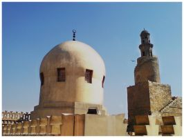 Survived Dome and Minaret by MahdyDesigns