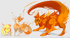 Fennekin Evolution Theory by IdentityPolution