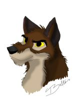 Balto sketch by AgentWhiteHawk