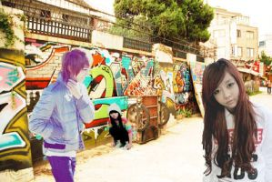 ulzzang graffiti by tragik-comedy