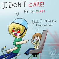 I DON'T CARE!! by Caffeine-Coated