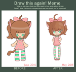 Draw this again Meme by PastelFluffButts