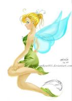 Tinkerbell wild by Annrose001