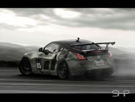 Nissan 370z GT Academy by shappass