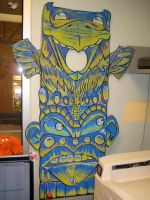 finished totem pole by ChristopherNawara