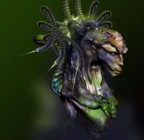 Alien Queen by goor