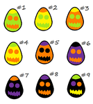 free scarfblob egg adopts .closed. by Odscene