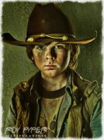 The Walking Dead: Carl: BuzSim Re-Edit (Vers. 2) by nerdboy69