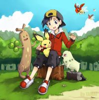 Pkmn - Ilex Forest - by LazyTurtle