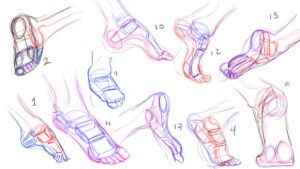 Feet Construction by anaisgomez