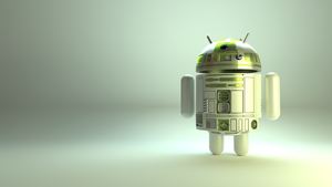 Android Robot, R2-D2 Style by ILikePixels