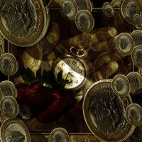 One Cat_Fruit_Clock Coins V3 by Rickbw1