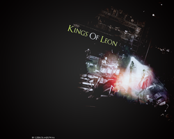 Kings Of Leon by Czekolaadowaa