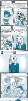 [ASK BLOG ARC PG 21]- Dodged a bullet. by PurpleZombieTigress