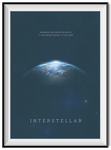 Interstellar Minimal Poster by danishprakash