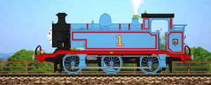 ''Thomas is a Tank Engine...'' by Nictrain123