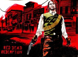 Red Dead Redemption by Taiel
