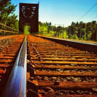 Railroad Tracks by Xscape-rtist