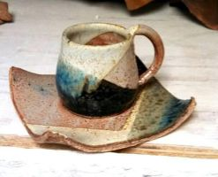 Cup and Saucer by tinyBIG93